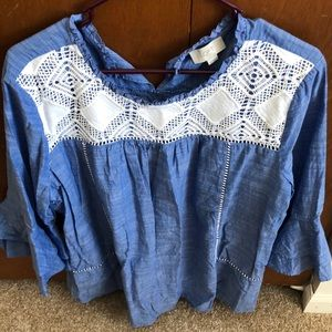 Gently used XL hippie shirt from Loft